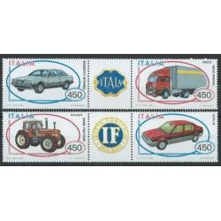 Włochy - Nr 1872 - 75 1984r - Motoryzacja