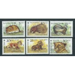 Kazachstan - Nr 031 - 36 1993r - Ssaki