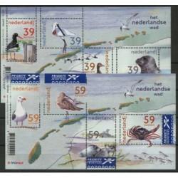 Holandia - Bl 77 - 78 2003r - Ptaki - Ssaki morskie