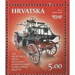 Chorwacja - Nr 1138 2014r - Wóz strażacki