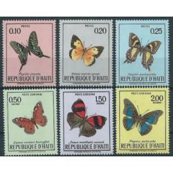 Haiti - Nr 1092 - 97 1969r - Motyle