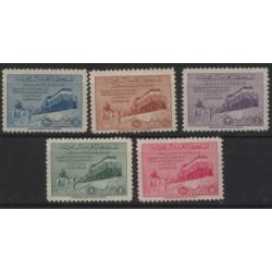 Arabia Saudyjska - Nr 044 - 48 1952r - Koleje