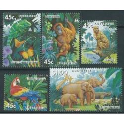 Australia - Nr 1428 - 32 1994r - Ptaki -  Ssaki