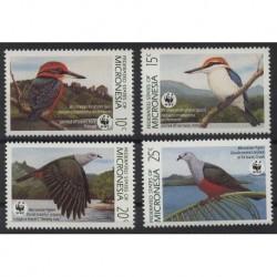 Mikronezja - Nr 174 - 771990r - WWF - Ptaki