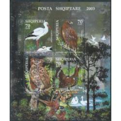 Albania - Bl 147 2003r - Ptaki