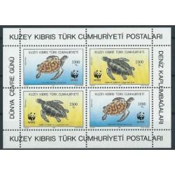Cypr Tur. - Bl 11 1992r - WWF - Gady
