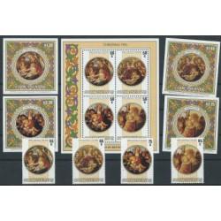 Wyspy Cooka - Nr 1086 - 9 Bl 160 - 64 1985r - Boże Narodzenie