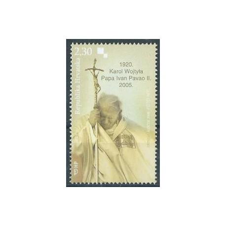 Chorwacja - Nr 710 2005r - Jan Paweł II