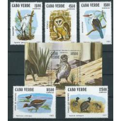 Cabo Verde - Nr 445 - 49 Bl 4 1981r - Ptaki