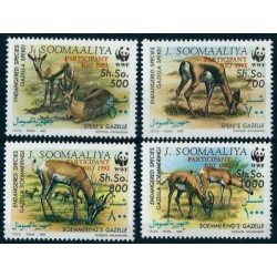 Somalia - Nr 444 - 47 1992r - WWF - Ssaki