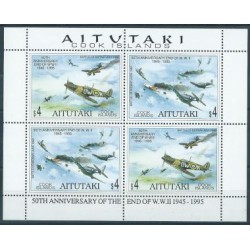 Aitutaki - Nr 740 - 41 Klb 1995r - Bitwa o Midway