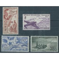 Francuska Afryka Zachodnia - Nr 053 - 56 A 1947r - Ptaki - Mary
