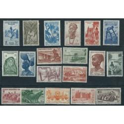 Francuska Afryka Zachodnia - Nr 034 - 52 1947r - Kolonie Fran  - Ssaki