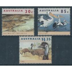 Australia - Nr 1394 - 96 1994r - Ptaki - Gady