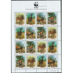 Mozambik - Nr 1231 - 34 Klb 1991r - WWF -  Ssaki