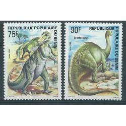 Benin - Nr 377 - 78 1984r - Dinozaury