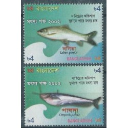 Bangladesz -  Nr 805 - 06 2002r - Ryby