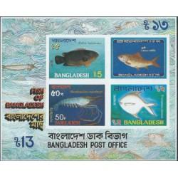 Bangladesz - Bl 11 1983r - Ryby