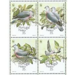 Madera - Nr 143 - 46 1991r - WWF -  Ptaki
