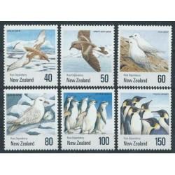 Nowa Zelandia - Nr 1144 - 49 1990r - Ptaki