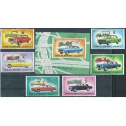 Umm al Qiwain - Nr 637 - 42 Bl 52 1972r - Samochody