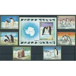 Umm al Qiwain - Nr 630 - 35 Bl 51 1972r - Ptaki