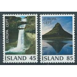Islandia - Nr 522 - 23 1977r - CEPT - Wodospad