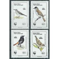 Cypr Tur. - Nr 275 - 78 1990r - WWF - Ptaki