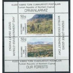 Cypr Tur. - Bl 15 1996r - Drzewa -  Krajobrazy