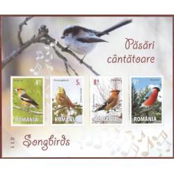 Rumunia - Bl 615 2015r - Ptaki