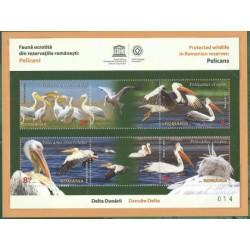 Rumunia - Bl 622 2015r - Ptaki -  Nakład 355 szt