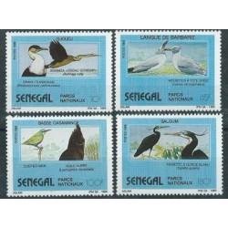 Senegal - Nr 1051 - 54 1989r - Ptaki