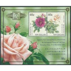 Nowa Zelandia - Bl 69 I 1997r - Kwiaty