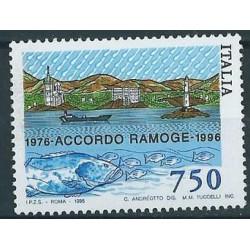 Włochy - Nr 2434 1996r - Latarnia - Ryby