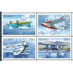 Islandia - Nr 791 - 94 1993r - Samoloty