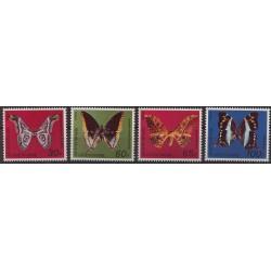 Wybrzeże Kości Słoniowej - Nr 527 - 30 1977r - Motyle