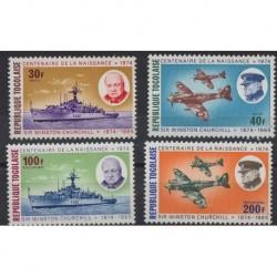 Togo - Nr 1074 - 77 1974r - Marynistyka  - Militaria