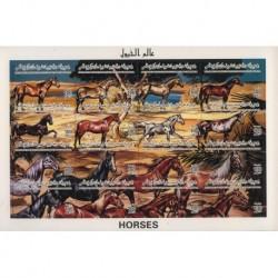 Libia - Nr 2351 - 66 Klb1996r - Konie