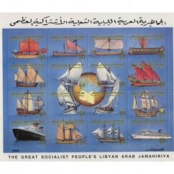 Libia - Nr 1976 - 91 Klb1993r - Marynistyka