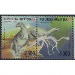 Chorwacja - Nr 268 - 69 1994r - Donozaury