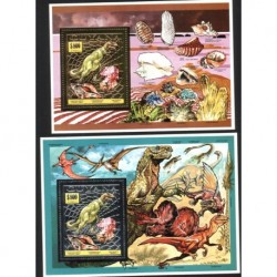 Guyana - Bl 372 - 731993r - Dinozaur - Muszla