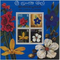 Sri - Lanka - Bl 41976r - Kwiaty