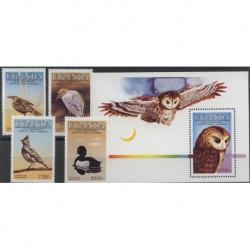 Uganda - Nr 435 - 38 Bl 511985r - Ptaki
