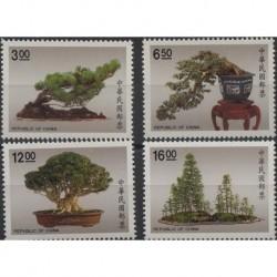 Tajwan - Nr 1914 - 17 1990r - Drzewa