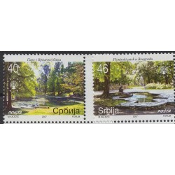 Serbia - Nr 192 - 932007r - Drzewa - Krajobrazy
