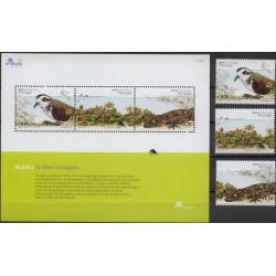 Madera - Nr 230 - 32 Bl 292004r - Ptaki - Gady