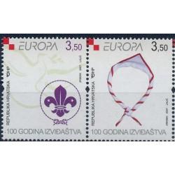 Chorwacja - Nr 805 - 06 2007r - CEPT - Scauting