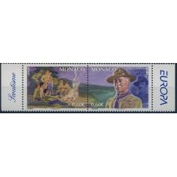Monako - Nr 2853 - 54 2007r - CEPT -  Scauting