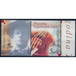 Chorwacja - Nr 670 - 71 2004r - Kompozytor